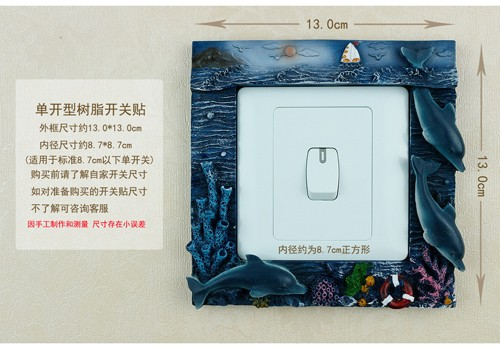 dolphin light switch cover STL-1014 manufacturers,dolphin